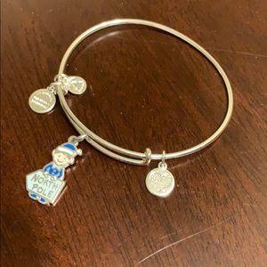 Alex and Ani north pole bracelet